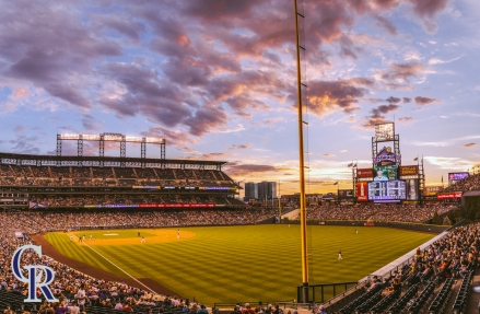 July 18, 2016 - The Colorado Rockies take on the Tampa Bay Rays. (Photo by Kyle Cooper)